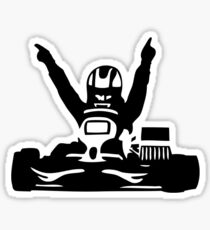 Karting Dessin Stickers Redbubble