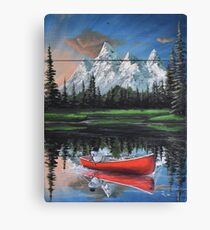 """Out on the Lake"" Canvas Print"