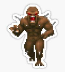 Doom Imp Sticker