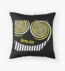 the smiler Throw Pillow