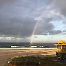 Double rainbow sun by Annie Smit