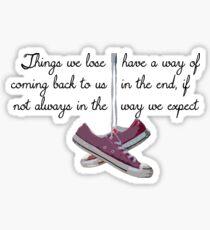 Harry P quote Sticker