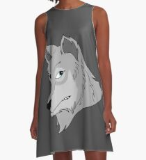 The Legendary Wolf A-Line Dress
