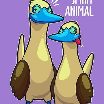 Boobies Are My Spirit Animal by artdyslexia