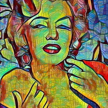 Marilyn Monroe by BRAZILIANJEANS