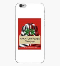 Nakatomi Plaze Christmas Design iPhone Case