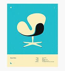 SWAN CHAIR (1958) Photographic Print