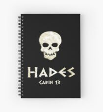 Cuaderno de espiral Cabina 13- Hades