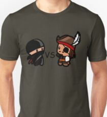 Ninjas V Pirates Unisex T-Shirt