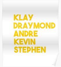 Hampton Basketball Players- Dubs Poster