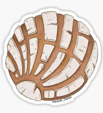 Concha pan dulce - blanco Sticker