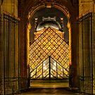 Louvre a la Portal by Victor Pugatschew
