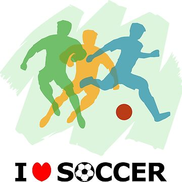 I love Soccer by denip