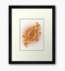Clockwork - Abstract Fractal Artwork Framed Print