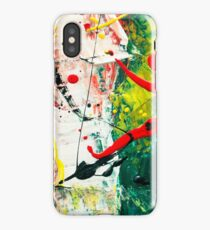 Splash Abstract iPhone Case