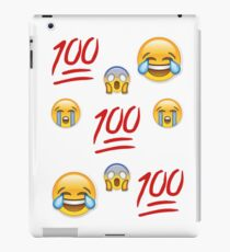 Variety Emoji Fade iPad Case/Skin