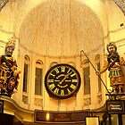 The Royal Arcade Melbourne with Clock by TeAnne