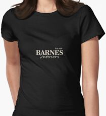 Barnes Interiors Women's Fitted T-Shirt