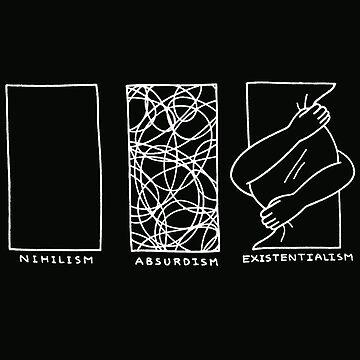 Philosophy Nihilism Absurdism Existentialism by Angelagallen19
