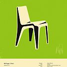 BOFINGER CHAIR (1966) by JazzberryBlue
