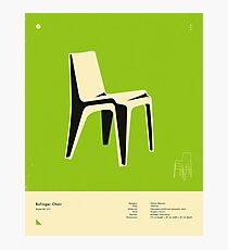 BOFINGER CHAIR (1966) Photographic Print
