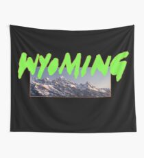 Kanye West Wyoming  Wall Tapestry