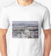 Winter forest landscape T-Shirt