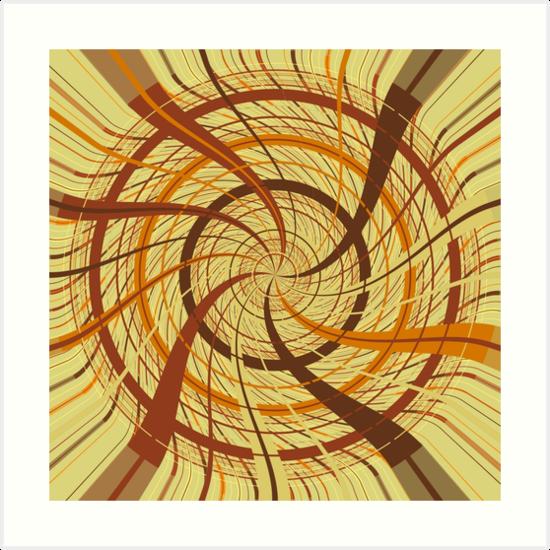 Brown vortex by Gaspar Avila