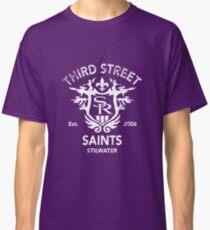 Saints Row 3 Tribute Distressed White Classic T-Shirt