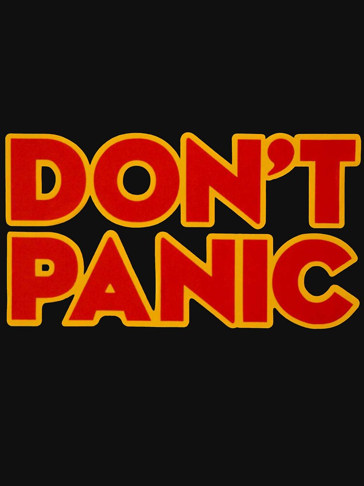 Don't Panic by BloodWing