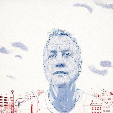Johan Cruyff by DerekBacon