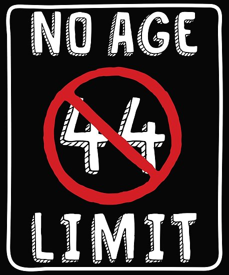 No Age Limit 44th Birthday Gifts Comical B Day For 44 Year Old By MemWear