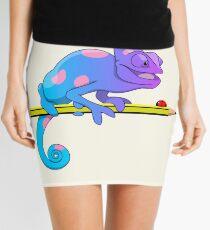 Colorblind chameleon Mini Skirt