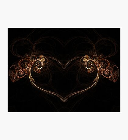 Heart of the Forest - Abstract Fractal Artwork Photographic Print
