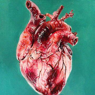 i give u my heart by Superbluepanda