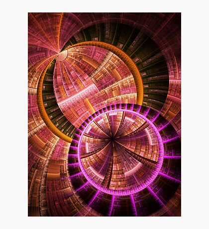 Industrial II - Abstract Fractal Artwork Photographic Print
