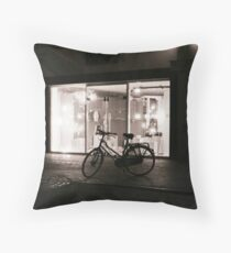 Leiden At Night I Throw Pillow