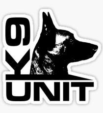 K-9 Unit  -Police Dog Unit- Malinois Sticker