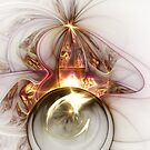 Oracle - Abstract Fractal Artwork by EliVokounova