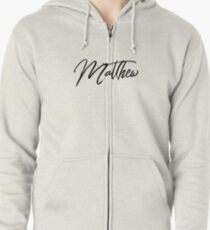 Hey Matthew this is perfect for you Zipped Hoodie