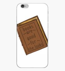 Books are good for the looks book version iPhone Case