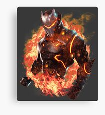 Fortnite Epic Omega Skin Canvas Print