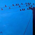 Birds, Wires, 16 by eolai