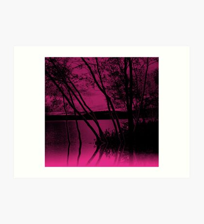Lake  Waywayanda  at    Rest                     Art Print