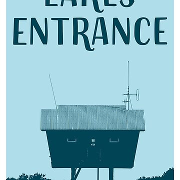 Lakes Entrance Travel Poster by AaronKinzer