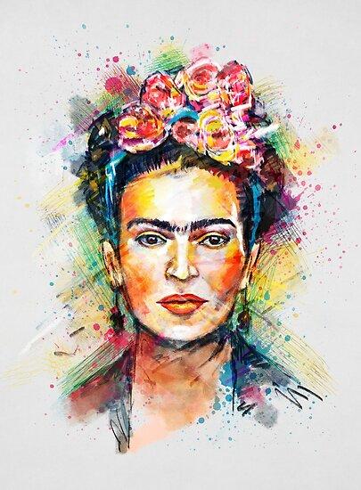 Frida Kahlo von Tracie Andrews