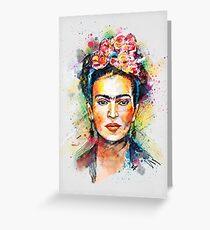 Tarjeta de felicitación Frida Kahlo