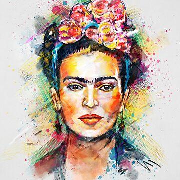 Frida Kahlo by tracieandrews