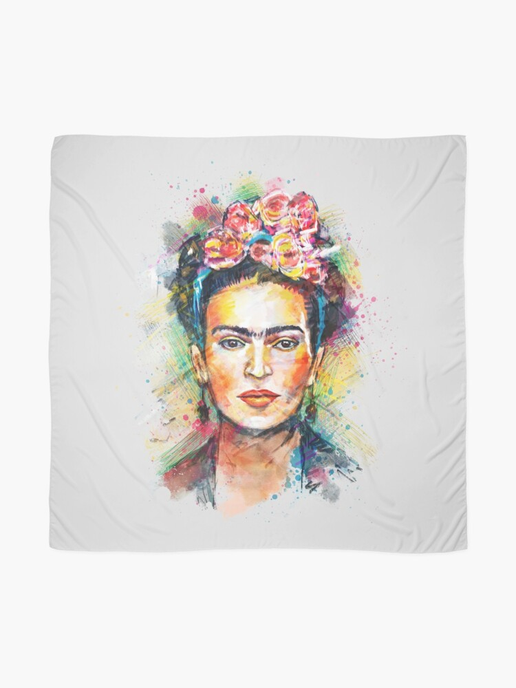 Alternate view of Frida Kahlo Scarf
