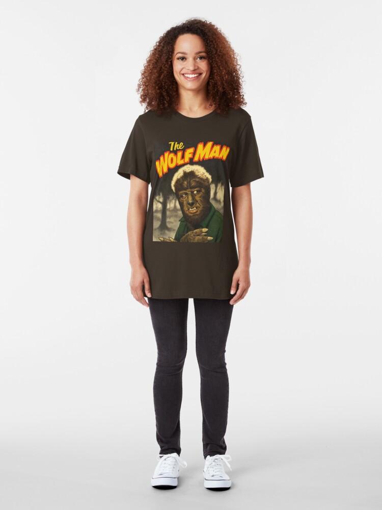 Alternate view of Anybody Have Extra Razors? Slim Fit T-Shirt